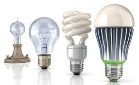 Light bulbs, lamps & holders