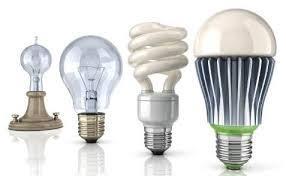 Light bulbs, lamps & holders