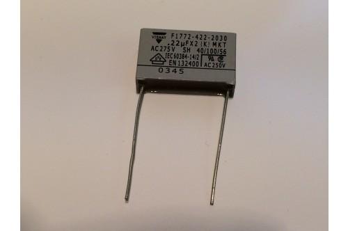 0.22uFx2 275VAC MAINS SUPPRESSION FILTER CAPACITOR