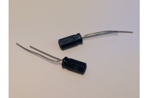 0.33UF 50V RADIAL ELECTROLYTIC CAPACITOR