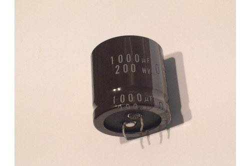 1000UF 200V RADIAL ELECTROLYTIC CAPACITOR