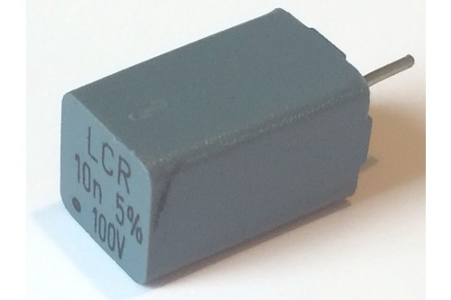 10nF 10,000pF 100V 5% LCR PRECISION POLYSTYRENE BOX CAPACITOR ad1s4