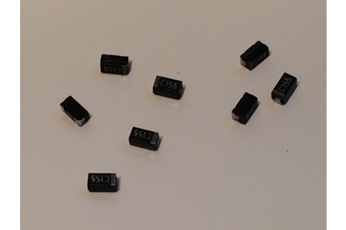 1.5UF 16V SURFACE MOUNT TANTALUM CAPACITORS
