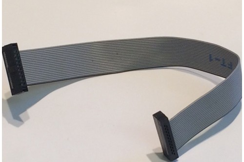 """20 WAY SUB MINIATURE IDC CONNECTING RIBBON CABLE .05"""" PITCH"""