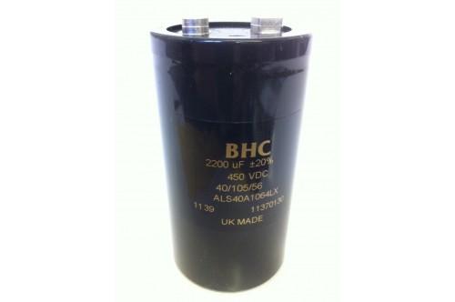2200UF 450V BHC ALS40A1064LX CAPACITOR