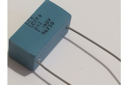 2.2nF 160V 1% LCR EXTENDED FOIL BOX POLYSTYRENE EP9 CAPACITOR ad2r18