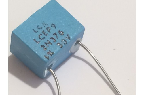 2.376nF 30V 1% LCR EXTENDED FOIL BOX POLYSTYRENE EP9 CAPACITOR ad2r19
