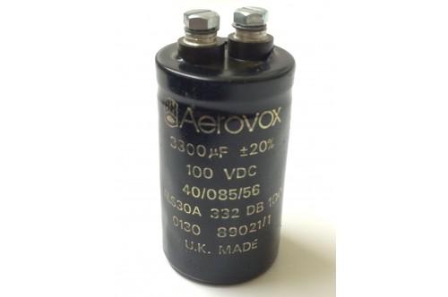 3300UF 100V BHC AEROVOX