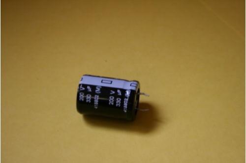 330UF 200V 105 TEMPERATURE MATSUSHITA HIGH RIPPLE CAPACITOR
