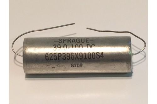 39UF 100VDC SPRAGUE NON POLARISED CAPACITOR