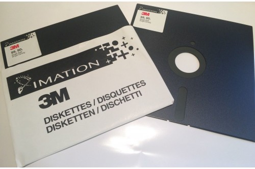 3M Collectors 8 Inch Single Sided Single Density 8 Floppy Disk SS, SD