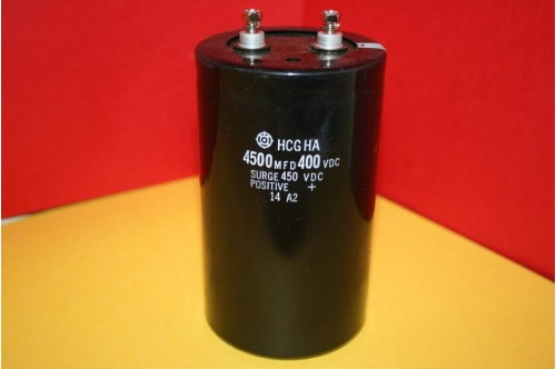 4500MFD 400 - 450VDC HITACHI POWER CAPACITOR