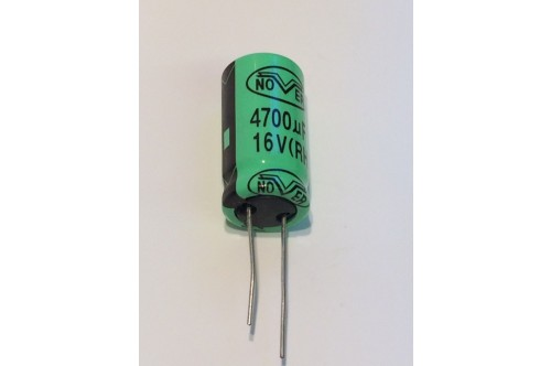 4700UF 16V RADIAL CAPACITOR