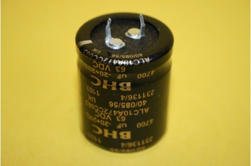4700UF 63V HIGH RIPPLE RADIAL ELECTROLYTIC
