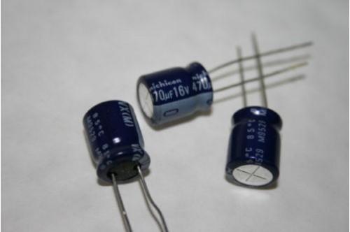 470UF 16V RADIAL ELECTROLYTIC CAPACITOR