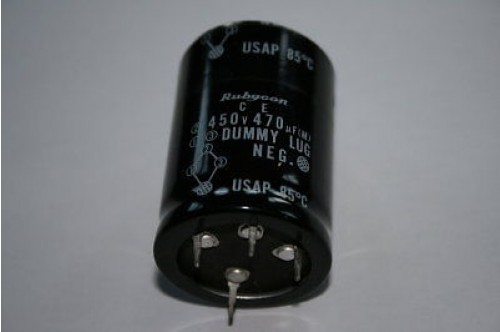 470UF 450V RADIAL CAPACITOR