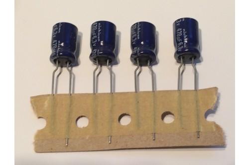 470UF 6.3V MINATURE RADIAL ELECTROLYTIC