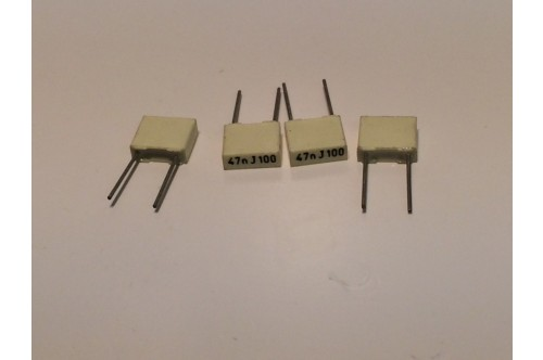 47nF 100V POLYESTER BOX CAPACITORS