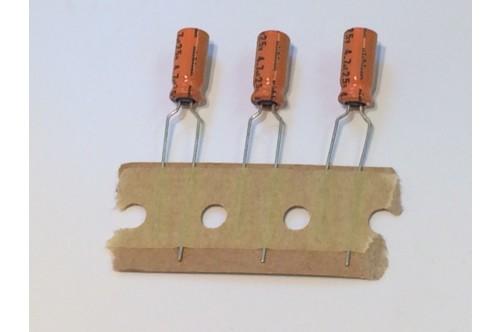 4.7UF 25V MINATURE RADIAL ELECTROLYTIC