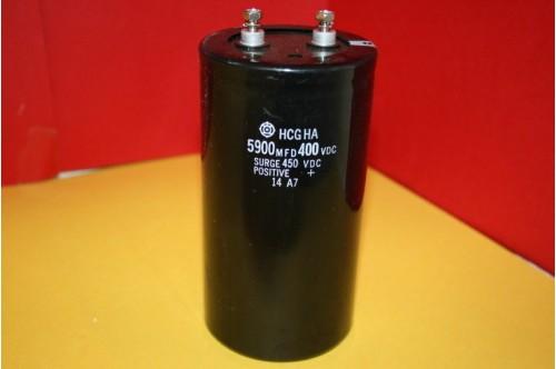 5900MFD  450VDC CAPACITOR