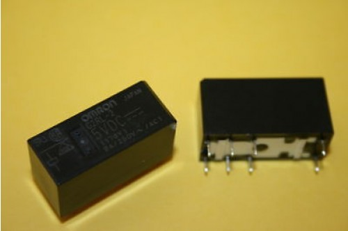 OMRON G2RL-2 5V RELAY 8A DPDT CONTACTS