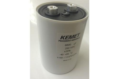 6800UF 250V KEMET RIFA PEH200ST4680MU2