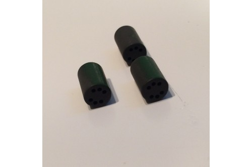 6 HOLE FERRITE BEAD CORE