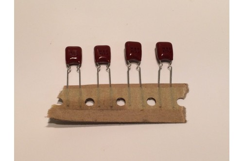 82nF 50V DIPPED POLYESTER CAPACITOR