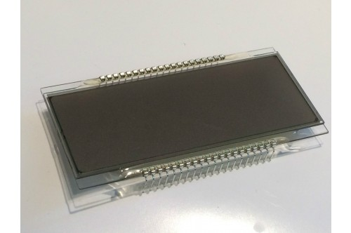 BIG 4 DIGIT LCD DISPLAY, STANDARD 40 PIN NON-MULTIPLEXED 9.5cm x 4.5cm ad1T7