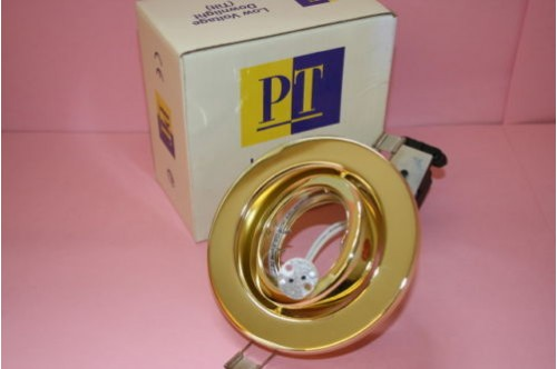 LOW VOLTAGE BRASS TILT DOWN LIGHT