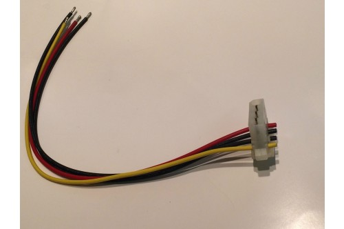 DISC DRIVE POWER CONNECTOR