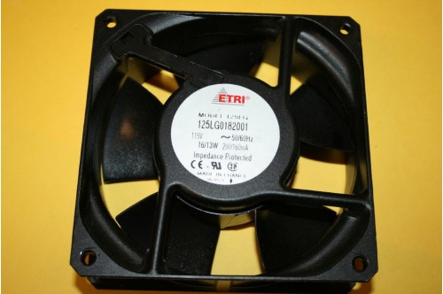 ETRI 125LG STANDARD 115V AXIAL FAN 120MM 125LG0182001