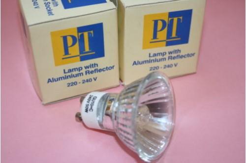 GU10 50W 240V LONG LIFE COMMERCIAL GRADE HALOGEN LAMP BULBS.