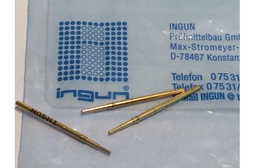 INGUN GKS-912 SPRING LOADED PIN TEST POINT GOLD PROBE (x10) fbb22.5