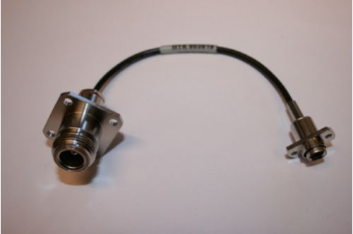 N TYPE FEMALE TO BMA FEMALE ADAPTOR CABLE