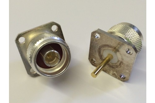 RADIALL N TYPE CHASSIS MALE - THICK PIN