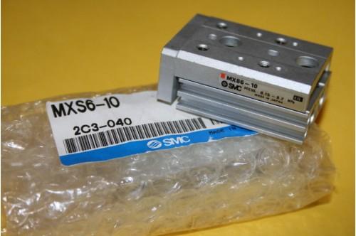 SMC MXS6-10 CYLINDER SLIDE TABLE