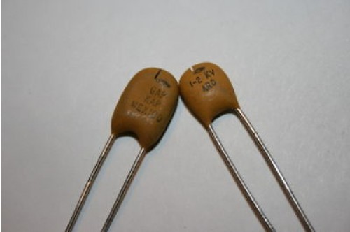 SPARK ARC GAP CAPACITOR