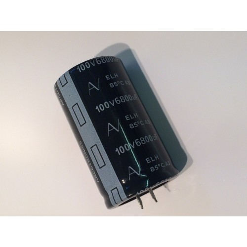 6800uf 100v Elh Power Capacitor Quad 303 Amp Fba37