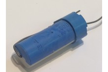 0.1uF 600Vdc DUBILIER BLUE / WHITE MIXED DILECTRIC VINTAGE CAPACITOR ad1u15