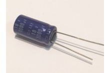 1000UF 10V RADIAL ELECTROLYTIC CAPACITOR 105 DEGREE TEMPERATURE (x2) fbe5c5