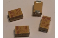 100UF 16V E CASE SURFACE MOUNT TANTALUM CAPACITORS