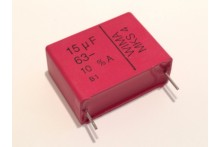 15UF 63V WIMA MKS4 METALLIZED POLYPROP CAPACITOR