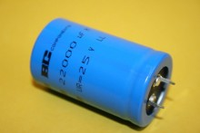 22000UF 25V SMOOTHING CAPACITOR