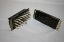 24 PIN MULTI WAY CONNECTORS PLESSEY JONES PLUG & SOCKET