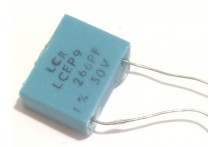 266pF 30V 1% LCR EXTENDED FOIL BOX POLYSTYRENE EP9 CAPACITOR fbb28.29