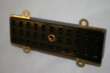33 PIN PLESSEY PANEL MOUNT FEMALE