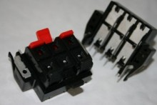 3 WAY SPEAKER RED AND BLACK OUTPUT TERMINALS