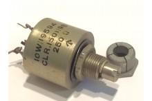 COLVERN 250 OHM 2 WATT WIRE WOUND VINTAGE POTENTIOMETER CLR1501/9S ad1u6