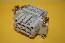 HARTING HAN6E-BU-S 6 POLE FEMALE